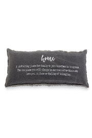 Mud Pie Home Pillow - Product Mini Image