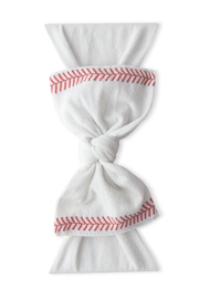 Baby Bling Home Run Printed Knot - Front cropped
