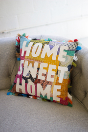 Kalalou Home Sweet Home Pillow - Product Mini Image