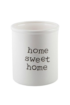 Shoptiques Product: Home-Sweet-Home Utensil Crock