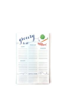 Shoptiques Product: Grocery Magnetic Notepad