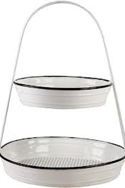 Home Essentials 2tier Holder - Product Mini Image