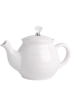 Home Essentials 38oz White Teapot - Product List Image
