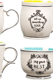 Home Essentials Assorted Inspirational Mugs - Front cropped