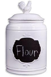 Home Essentials Large Chalk Canister - Product Mini Image