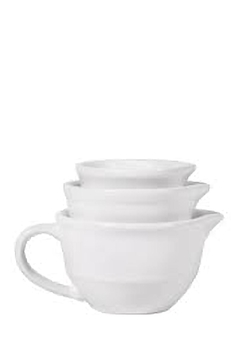 Home Essentials White Measuring Cups - Alternate List Image
