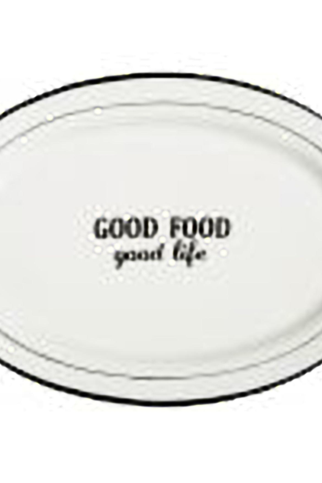 Home Essentials Words Oval Platter - Main Image