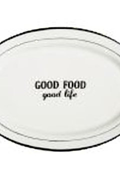 Home Essentials Words Oval Platter - Product List Image