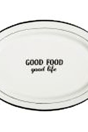 Home Essentials Words Oval Platter - Product Mini Image