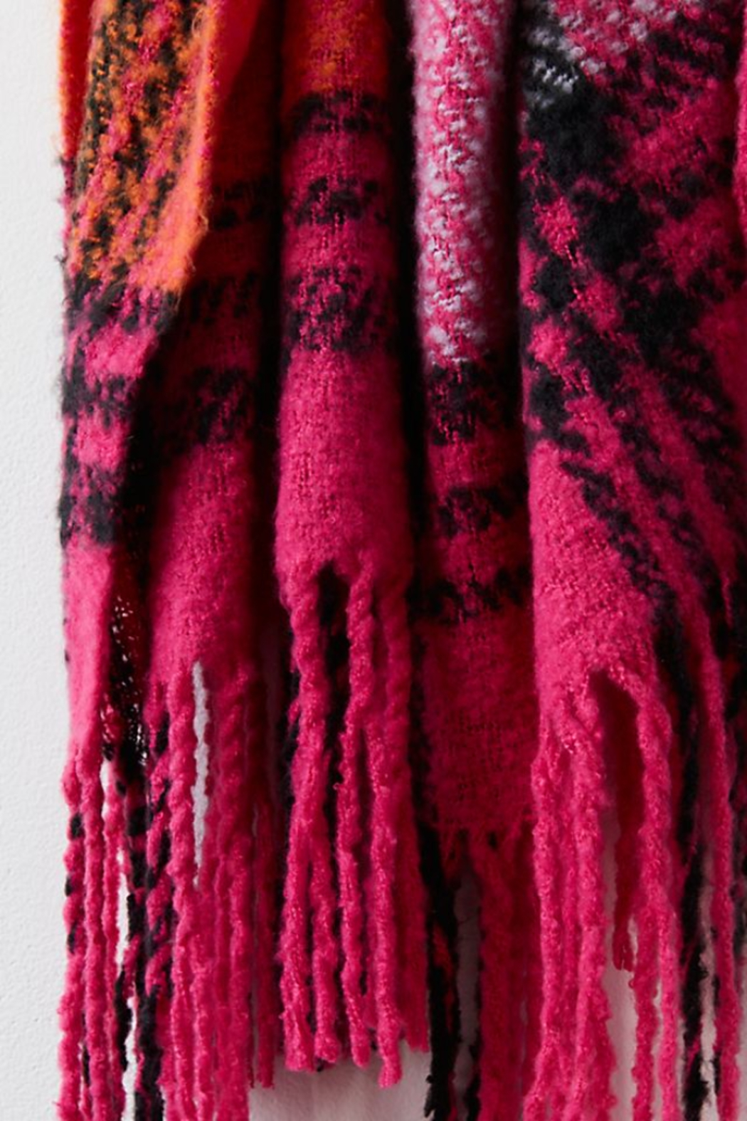 Free People  Homecoming Plaid Blanket - Side Cropped Image