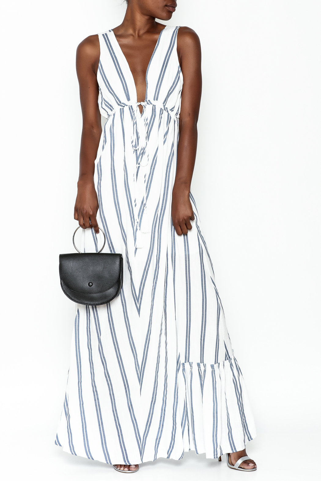 281de207ac8 Hommage Annabelle Striped Maxi Dress from Minneapolis by ...