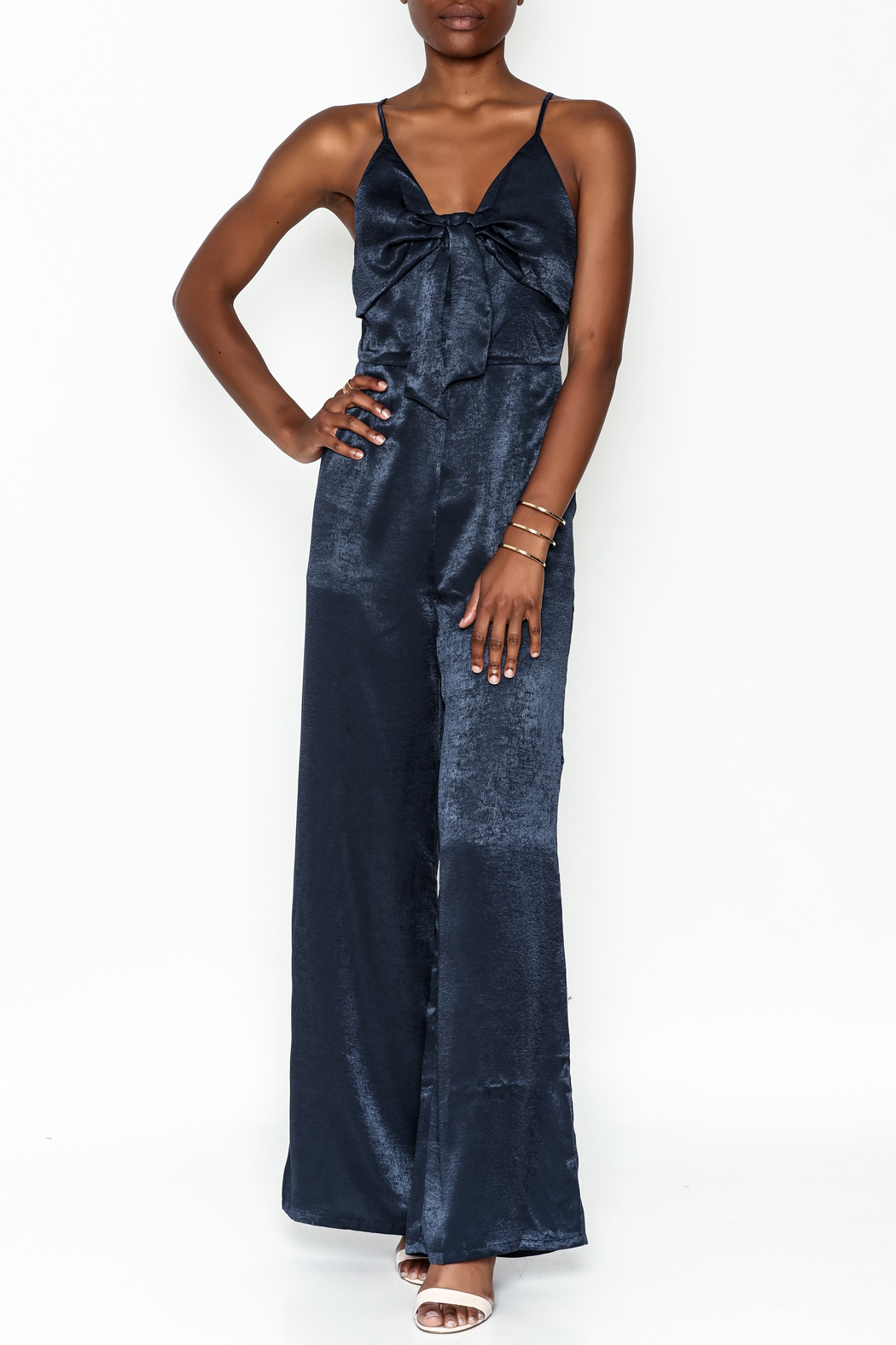 Hommage Bow Front Jumpsuit - Main Image