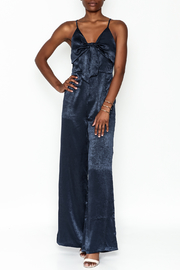 Hommage Bow Front Jumpsuit - Front cropped