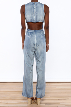 Hommage Chambray Jumpsuit - Alternate List Image