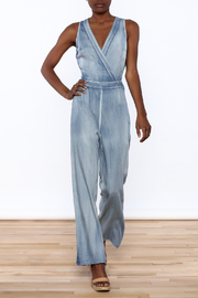 Hommage Chambray Jumpsuit - Product Mini Image