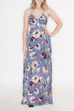 Hommage Cutout Halter Maxi - Product List Image