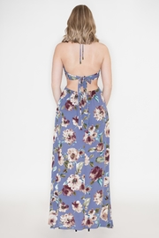 Hommage Cutout Halter Maxi - Side cropped