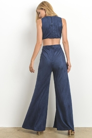 Hommage Faux Suede Jumpsuit - Other