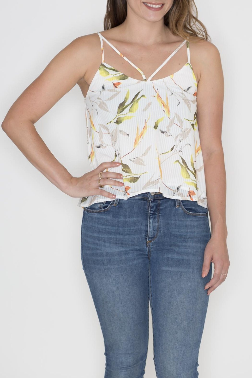 Hommage Floral Cami Top - Main Image