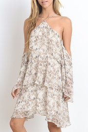 Hommage Floral Dress Ruffles - Front cropped