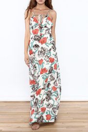Hommage Floral Printed Maxi Dress - Product Mini Image