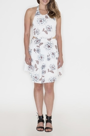 Hommage Floral Cut Out Dress - Back cropped