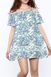 Hommage Floral Shift Dress - Product Mini Image