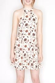 Hommage Floral Print Dress - Front cropped