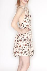 Hommage Floral Print Dress - Side cropped