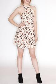 Hommage Floral Print Dress - Front full body