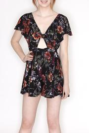 Hommage Nikki Floral Romper - Product Mini Image