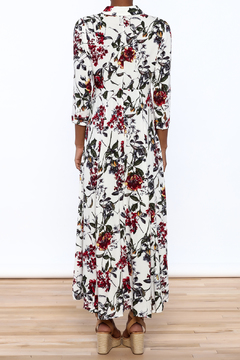 Shoptiques Product: Floral Shirt Dress