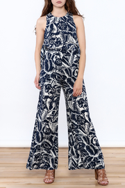 Hommage Bianca Floral Pants - Front full body