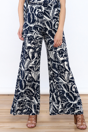 Hommage Bianca Floral Pants - Front cropped