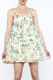 Hommage Floral Printed Sleeveless Dress - Product Mini Image
