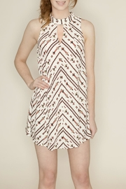 Hommage Keyhole Halter Dress - Product Mini Image