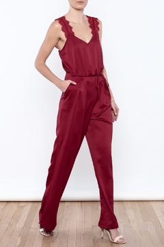 Shoptiques Product: Lace Strap Jumpsuit