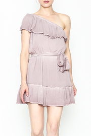Hommage One Shoulder Dress - Product Mini Image