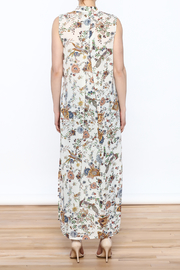 Hommage Floral Printed Maxi Top - Back cropped
