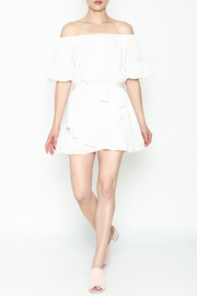 Hommage Ruffle Dress - Side cropped