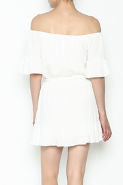 Hommage Ruffle Dress - Back cropped