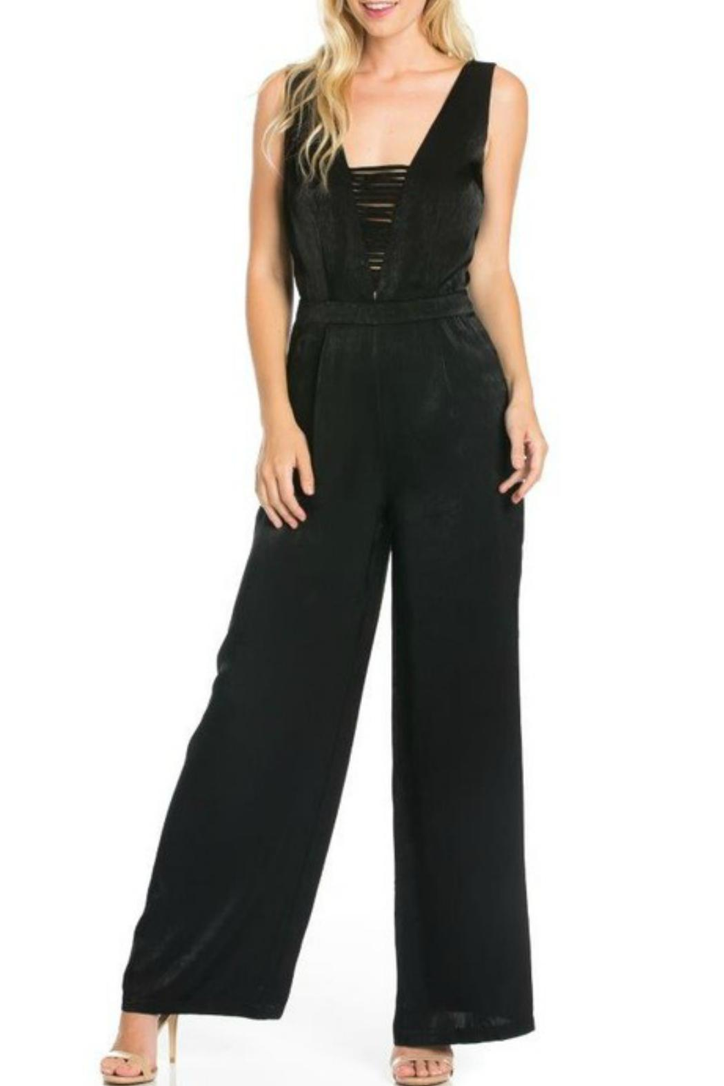 Hommage Simple Black Jumpsuit from Tampa by Imagine That — Shoptiques
