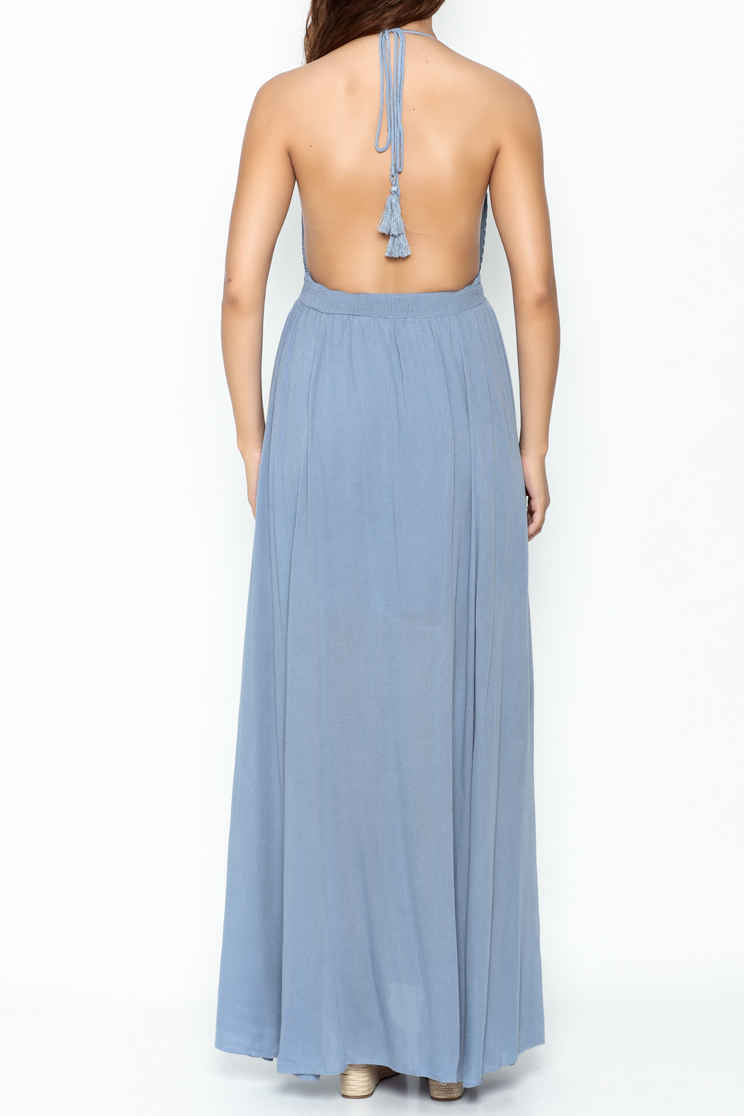 Hommage Skylar Maxi Dress - Back Cropped Image