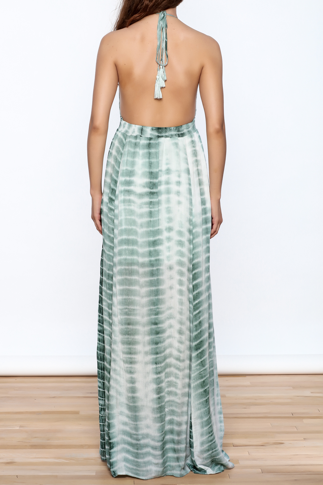 Hommage The Rayna Tie Dye Maxi - Back Cropped Image
