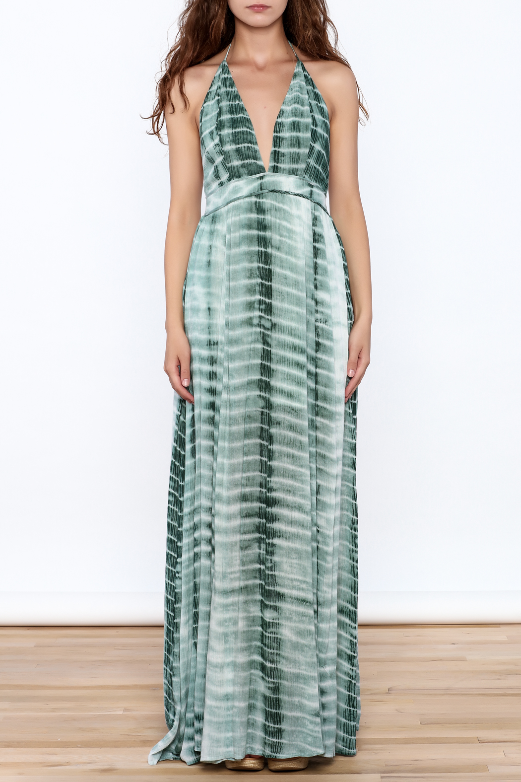 Hommage The Rayna Tie Dye Maxi - Front Full Image