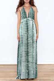Hommage The Rayna Tie Dye Maxi - Front full body