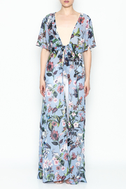 Hommage Tie Maxi Top - Front full body