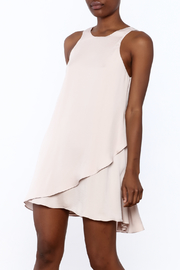 Hommage Sleeveless Mauve Dress - Product Mini Image