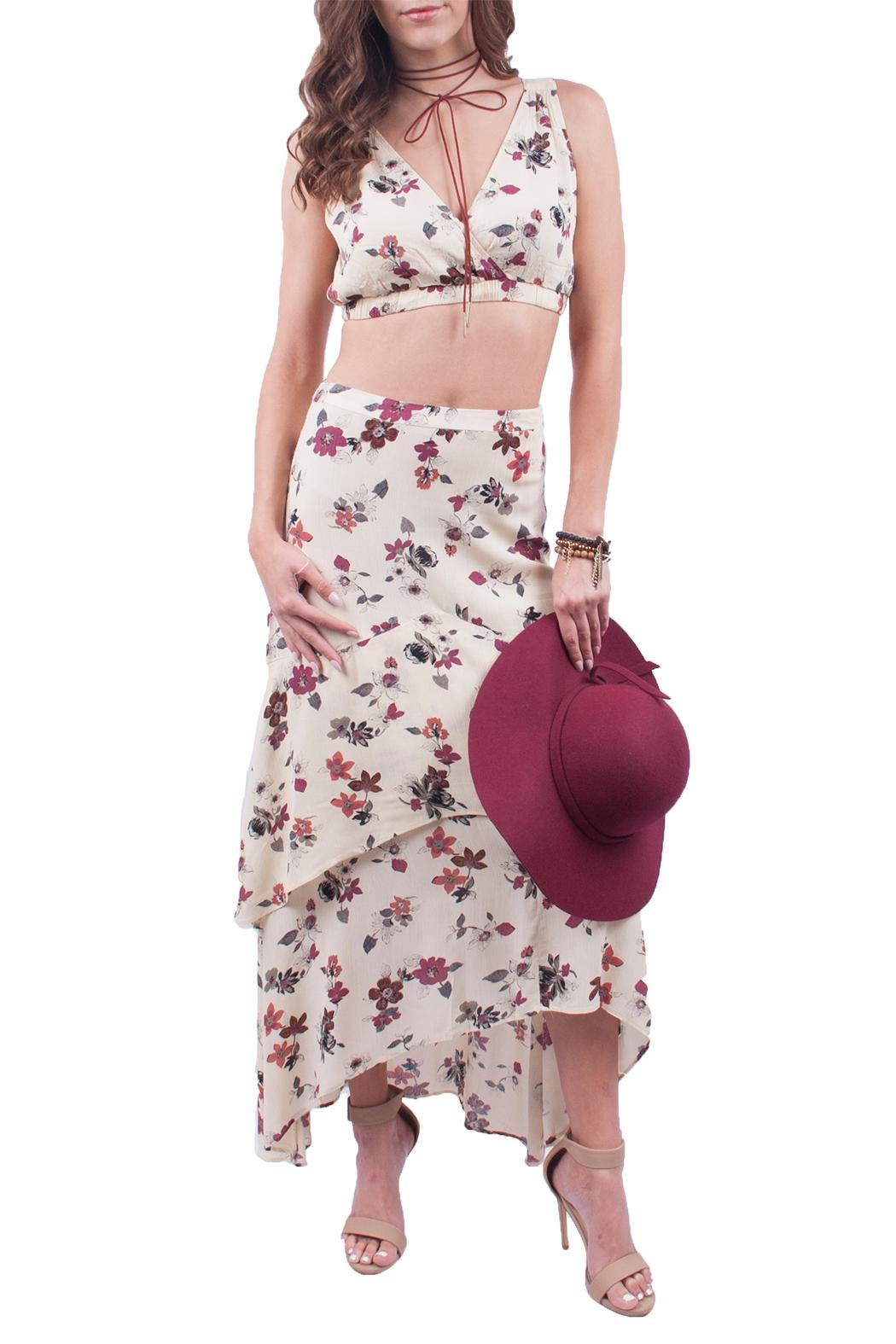 Hommage Two Piece Floral Set - Main Image