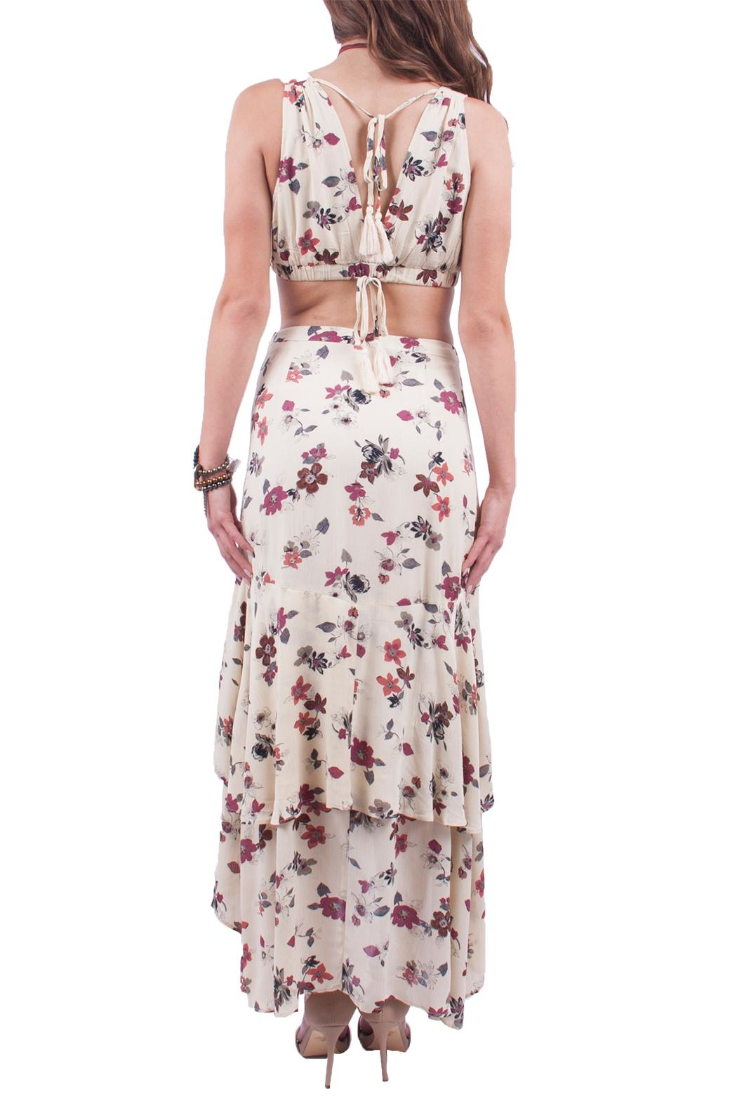 Hommage Two Piece Floral Set - Side Cropped Image